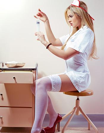 süße Krankenschwestern